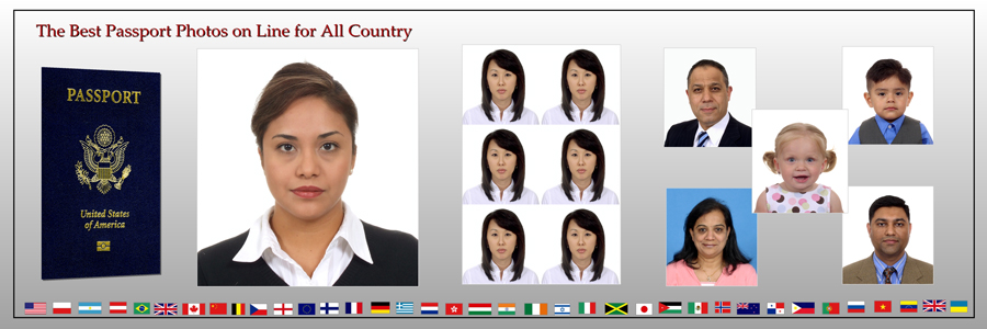Passport Photo Banner